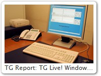 TG Report: TG Live! Windows for 2 climatic chambers