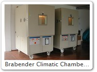 Brabender Climatic Chambers, yet without Thermoguard HR1