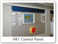 HR1 Control Panel Climatic chamber, now equipped with Temperature and Humidity Controller HR1