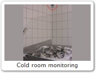Cold room monitoring