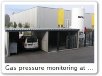 Gas pressure monitoring at Interlabor Belp AG With Thermoguard AC2 controllers a cost-effective solution was implemented. More information is available on request.